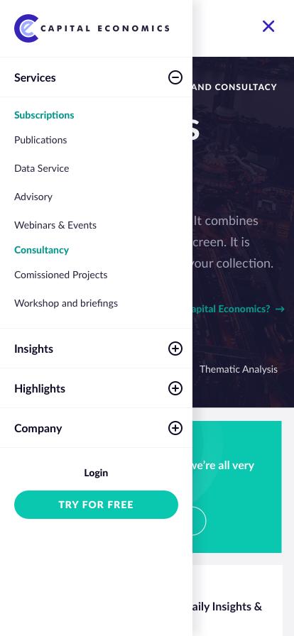 Capital Economics - Mobile Nav